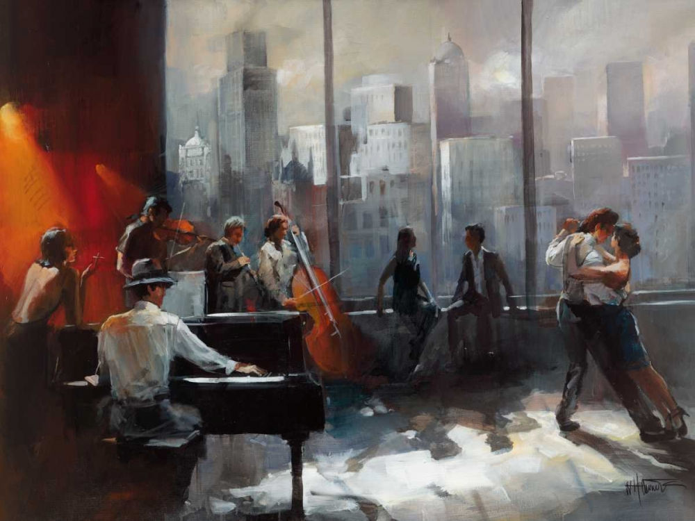 Room with a View II von Haenraets, Willem <br> max. 155 x 117cm <br> Preis: ab 10€