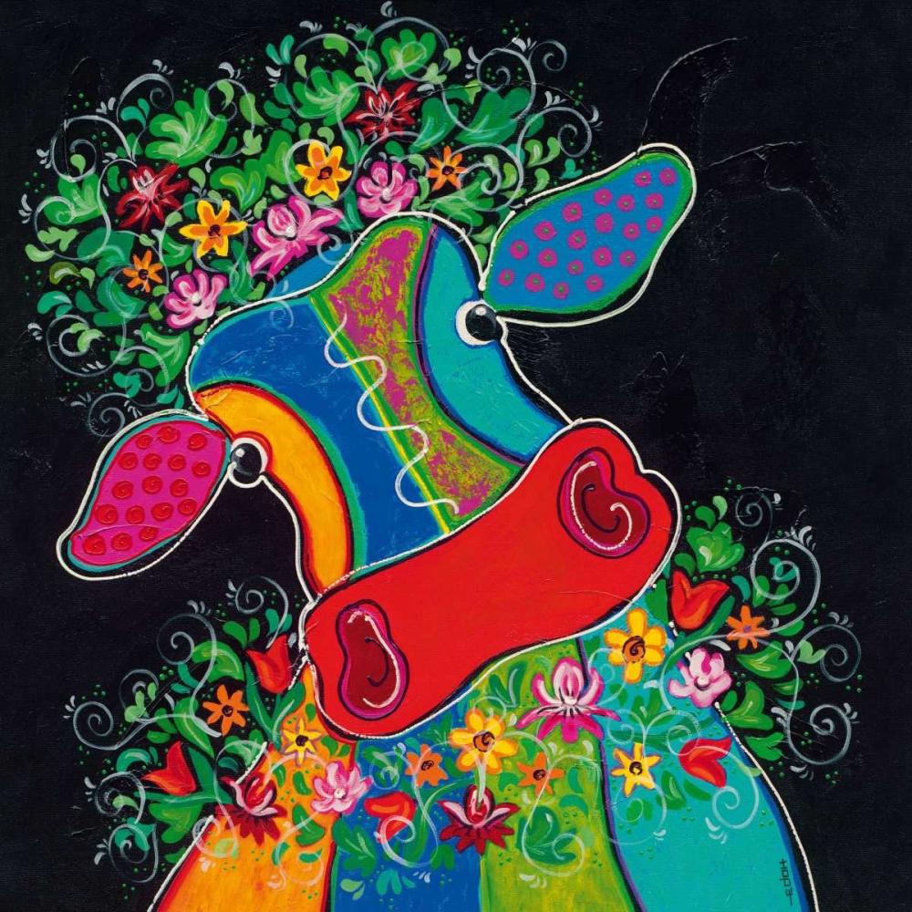 Maya in Total Bliss I von Hope, Yvonne <br> max. 135 x 135cm <br> Preis: ab 10€