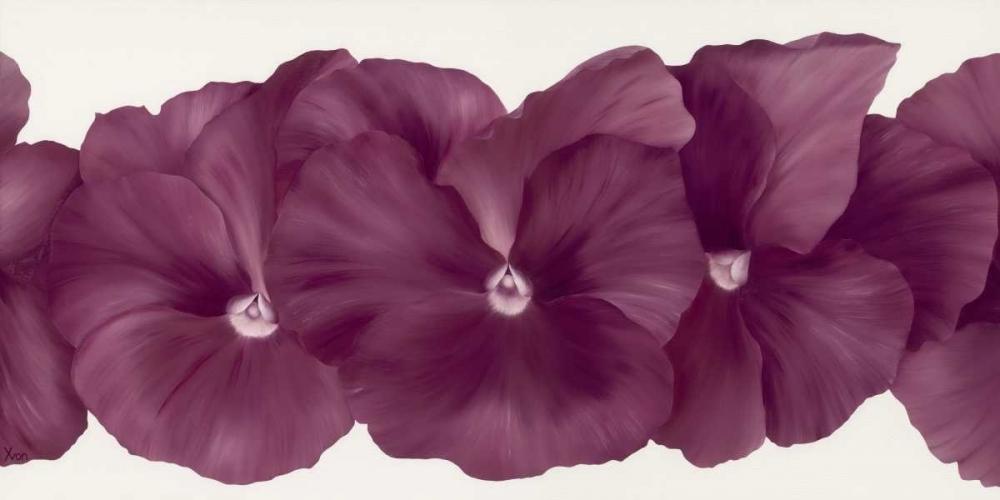 konfigurieren des Kunstdrucks in Wunschgröße Violet Flower III von Poelstra-Holzhaus, Yvonne