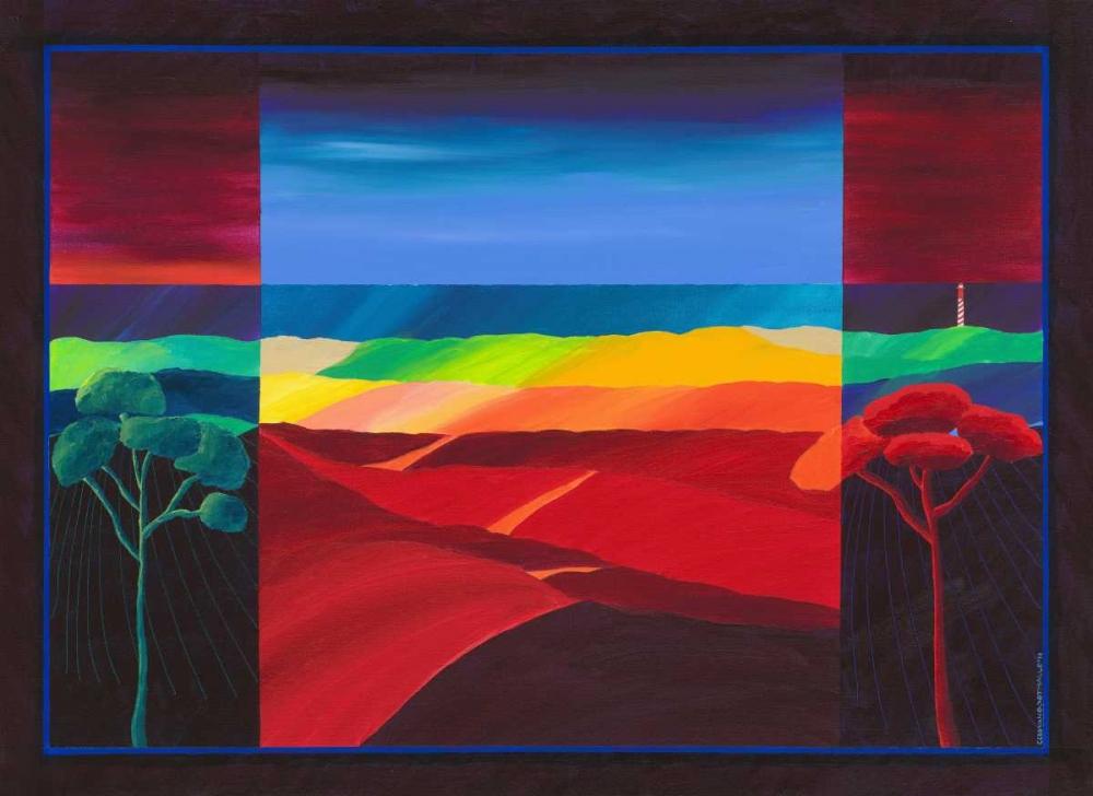 konfigurieren des Kunstdrucks in Wunschgröße Lighthouse II von Einzelbilder