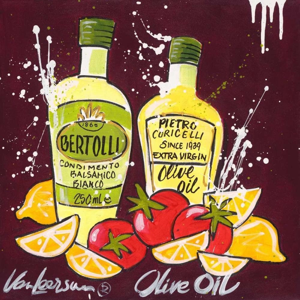 konfigurieren des Kunstdrucks in Wunschgröße Olive oil von van Leersum, El