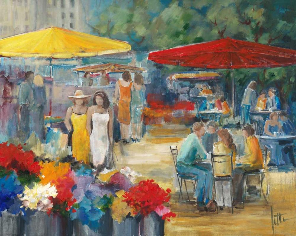 konfigurieren des Kunstdrucks in Wunschgröße Summer market I von Roseboom, Jettie