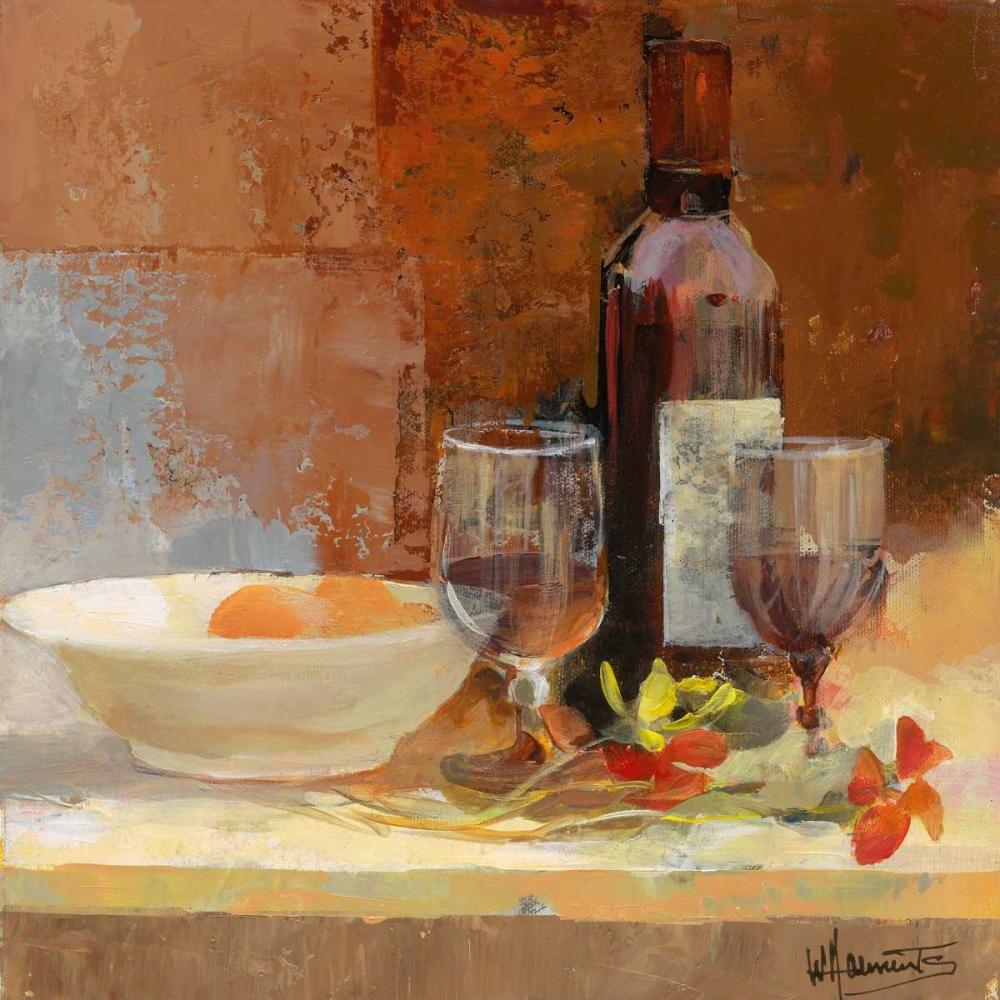 wine,italian,bottle,drinking,softcolour,European,Kitchen,Still-Life,Contemporary,Decorative,GA01_16765,A good taste I,Haenraets, Willem,Square