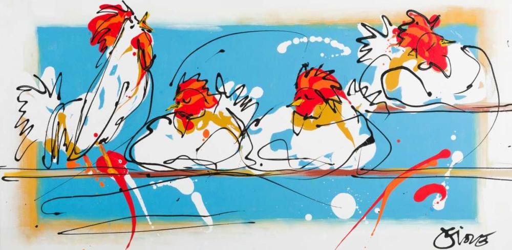 konfigurieren des Kunstdrucks in Wunschgröße I am awake von Fiore, Art