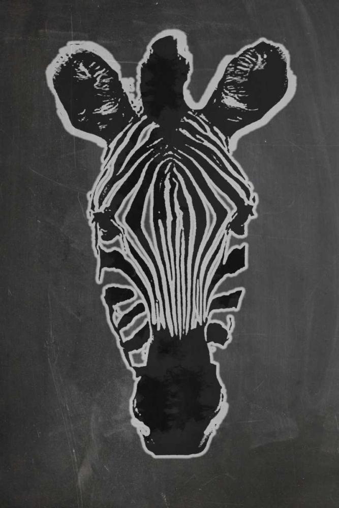 konfigurieren des Kunstdrucks in Wunschgröße Zebra Gris von Waltz, Anne
