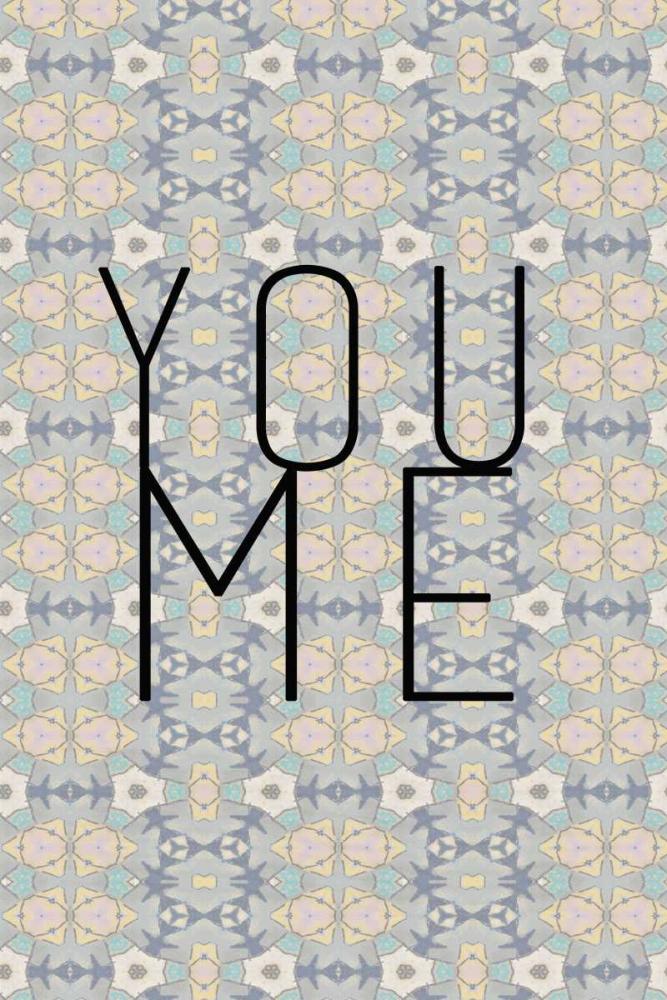 konfigurieren des Kunstdrucks in Wunschgröße You me II von Waltz, Anne