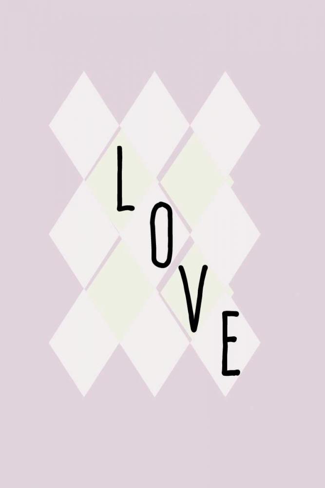 konfigurieren des Kunstdrucks in Wunschgröße Love von Waltz, Anne