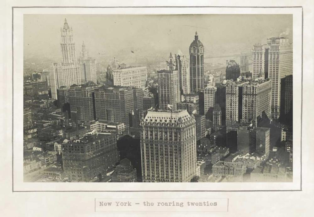 konfigurieren des Kunstdrucks in Wunschgröße New York 1920 von Waltz, Anne
