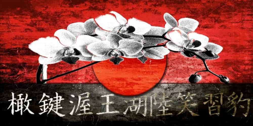 konfigurieren des Kunstdrucks in Wunschgröße Lotus Flower 12 von Adamsky