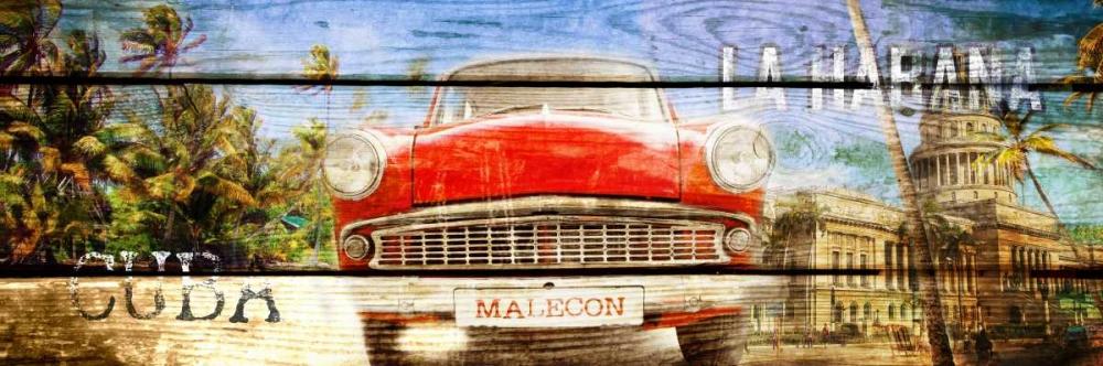 konfigurieren des Kunstdrucks in Wunschgröße Cuba Habana von Adamsky
