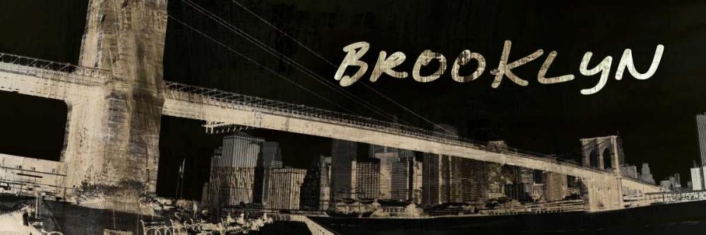 konfigurieren des Kunstdrucks in Wunschgröße Brooklyn von Adamsky