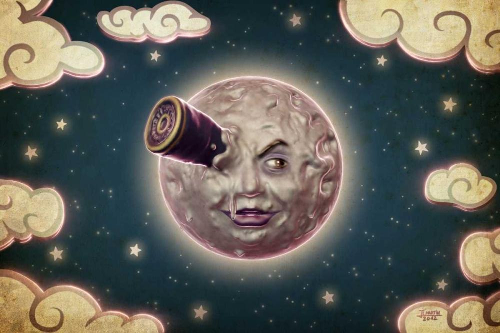 konfigurieren des Kunstdrucks in Wunschgröße A Trip to the Moon von Martin, Jose Luis