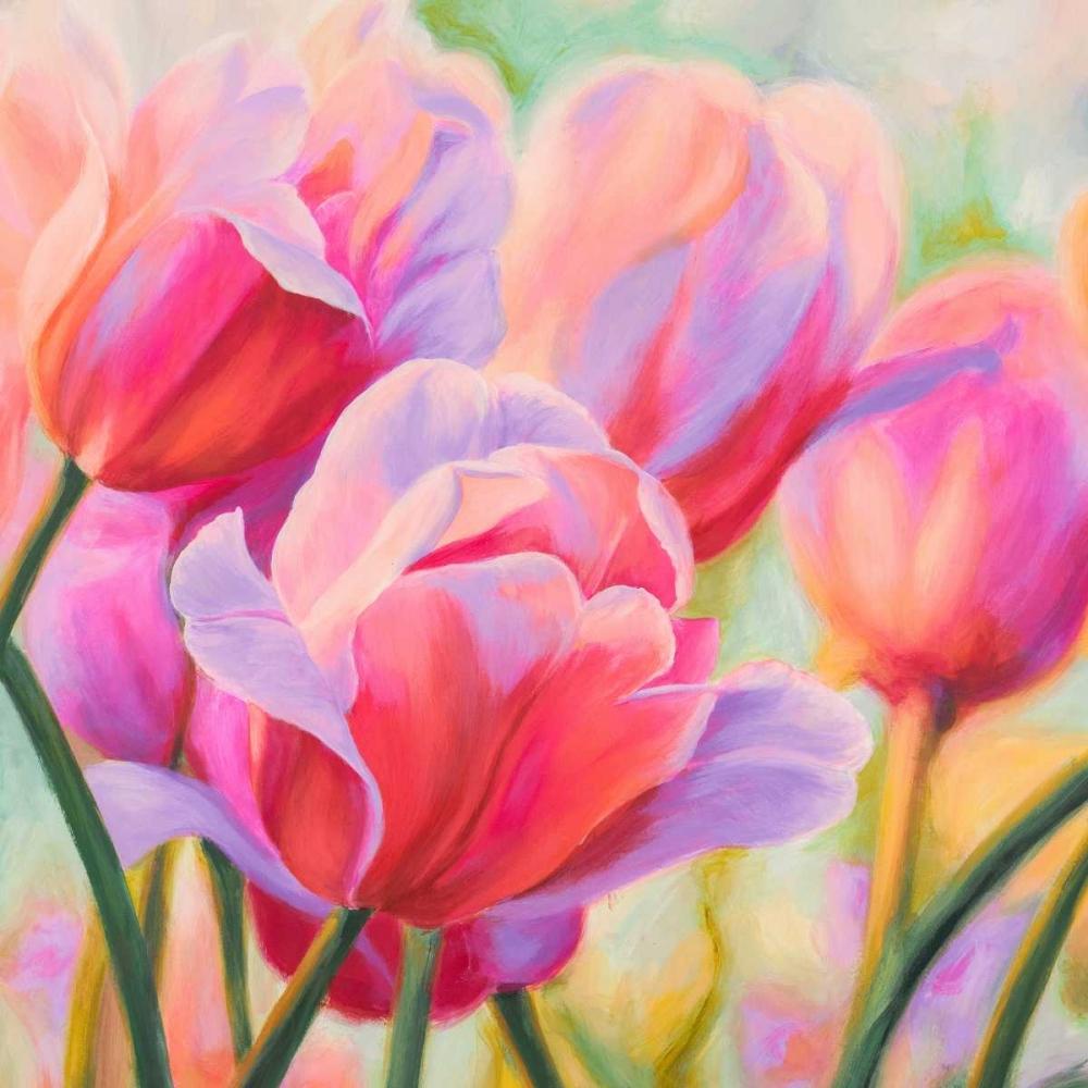 konfigurieren des Kunstdrucks in Wunschgröße Tulips in Wonderland I von Ann, Cynthia