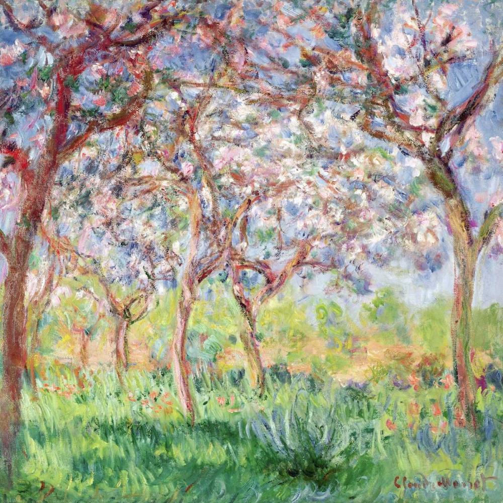 konfigurieren des Kunstdrucks in Wunschgröße Printemps a Giverny von Monet, Claude