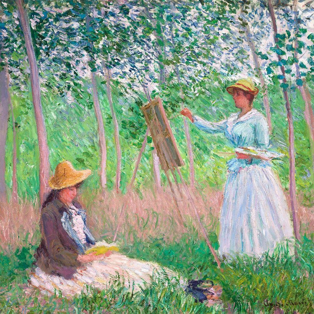 konfigurieren des Kunstdrucks in Wunschgröße In the Woods at Giverny von Monet, Claude