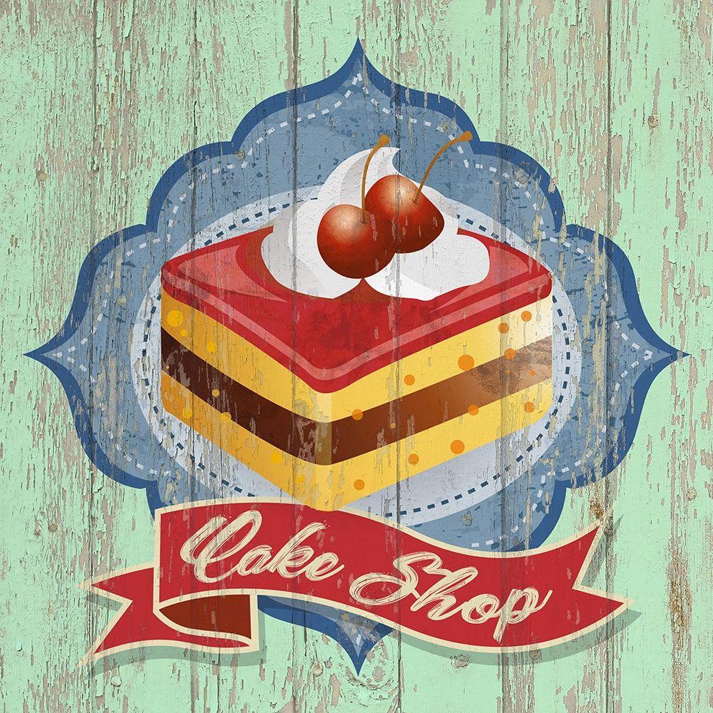 konfigurieren des Kunstdrucks in Wunschgröße Cake Shop von Skip Teller