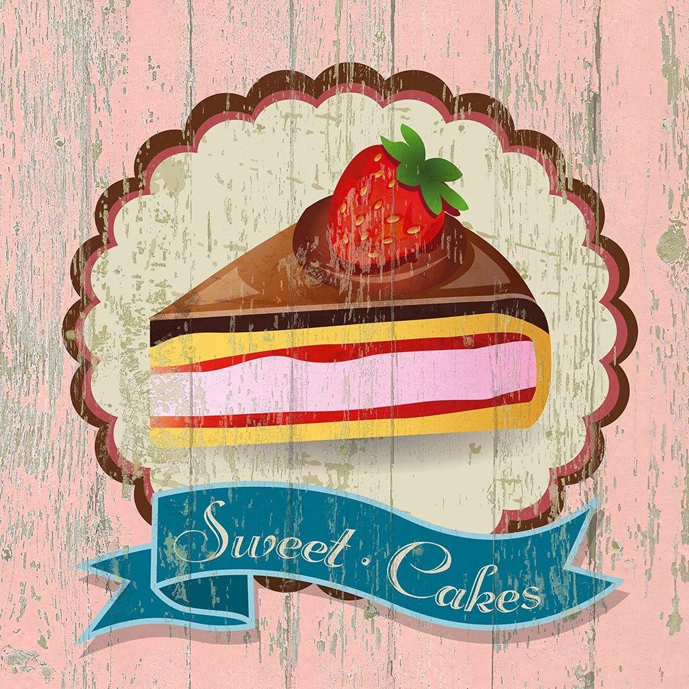 konfigurieren des Kunstdrucks in Wunschgröße Sweet Cakes von Skip Teller
