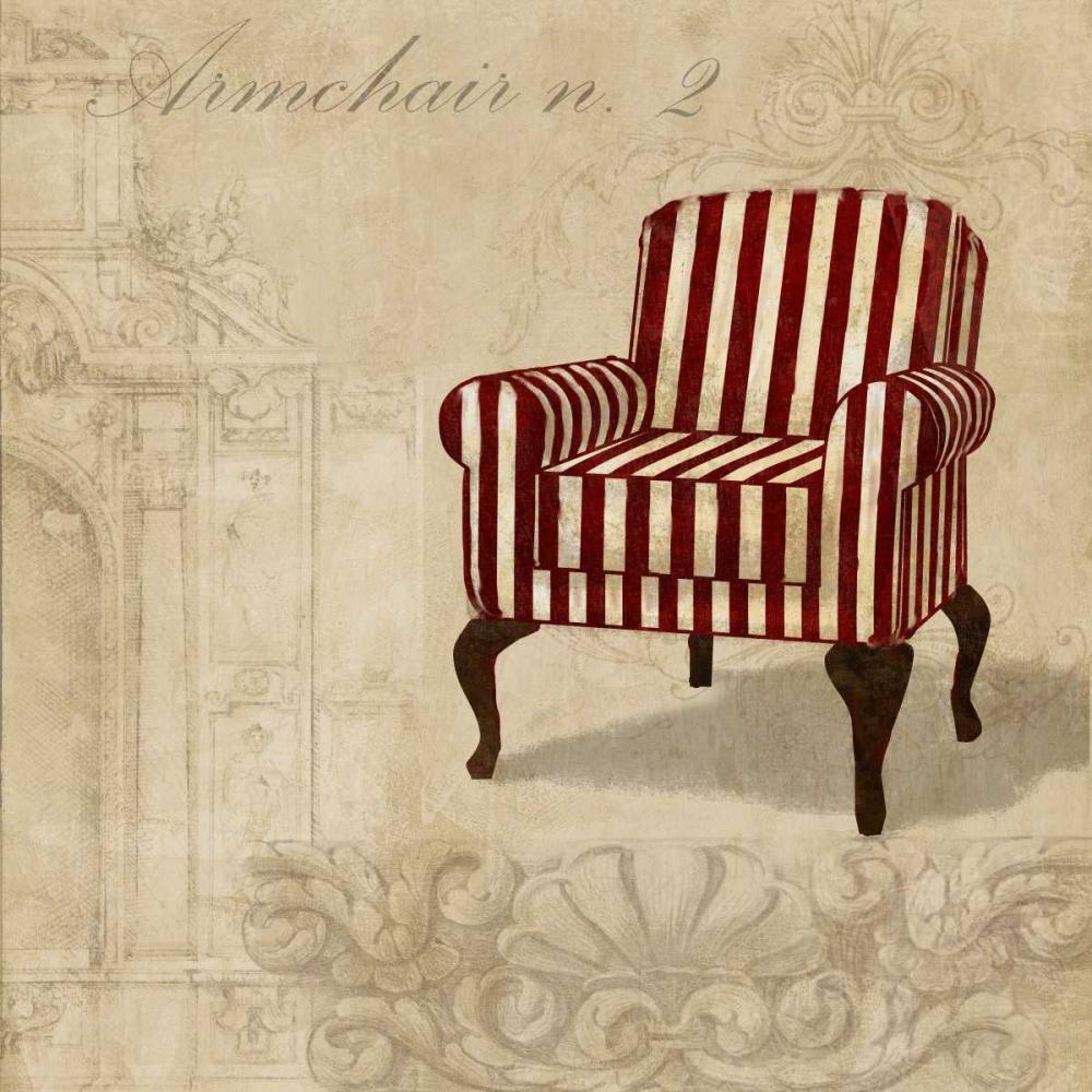 konfigurieren des Kunstdrucks in Wunschgröße Armchair n. 2 von Dellal, Remy