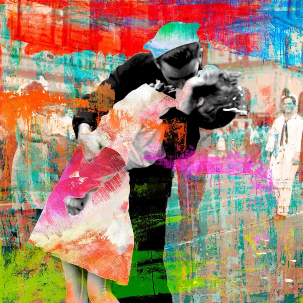 konfigurieren des Kunstdrucks in Wunschgröße Kissing the War Goodbye 2.0- detail von Chestier, Eric