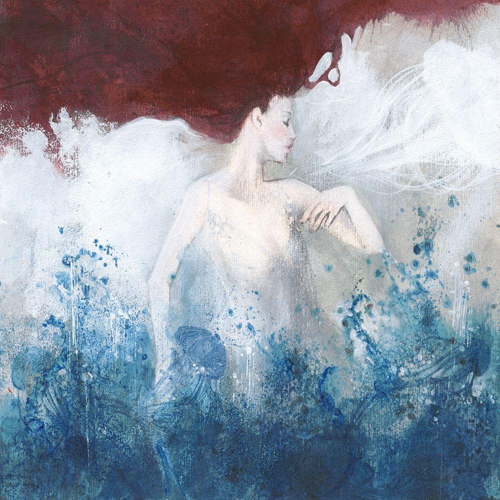 konfigurieren des Kunstdrucks in Wunschgröße Mermaid von Einzelbilder