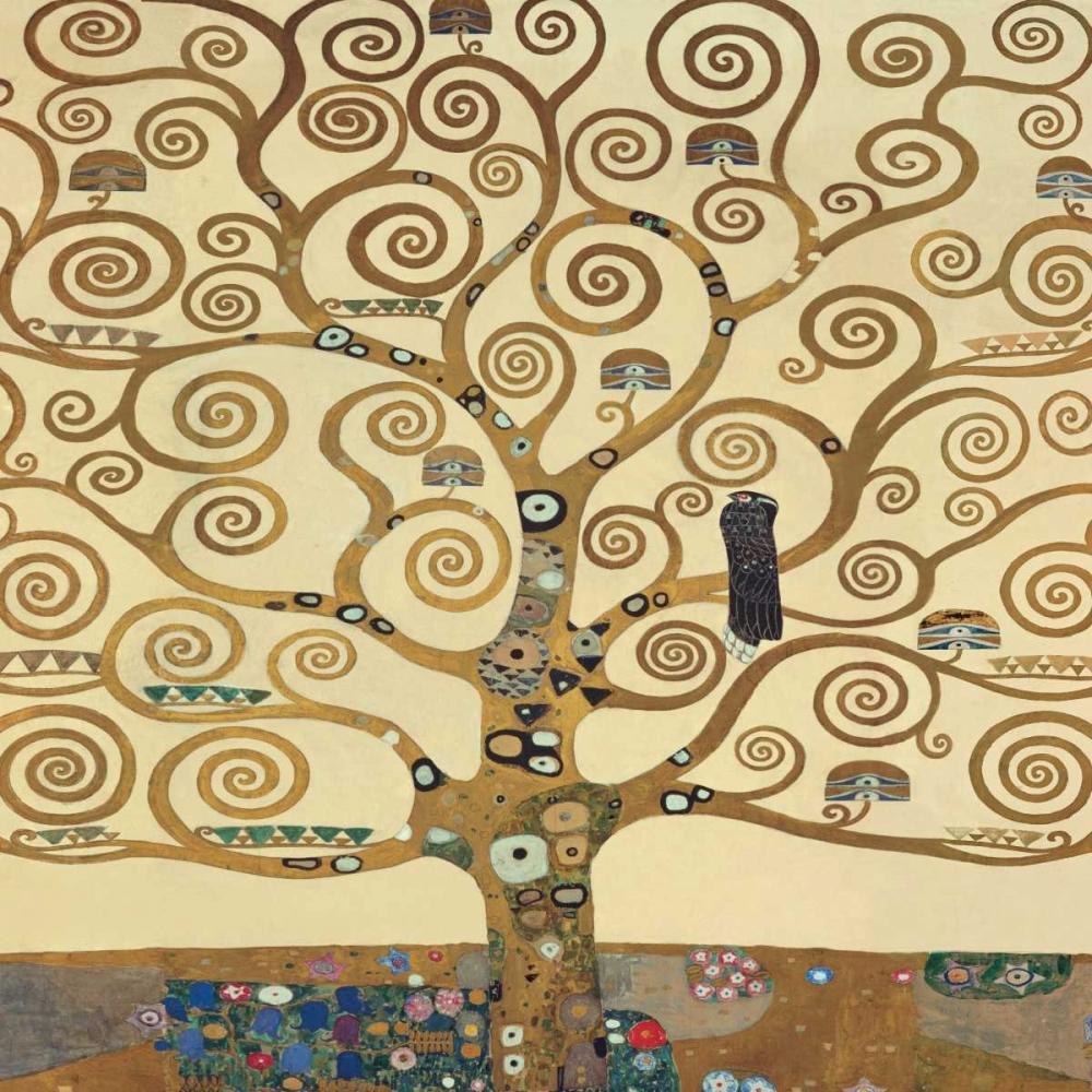 konfigurieren des Kunstdrucks in Wunschgröße The Tree of Life II von Klimt, Gustav