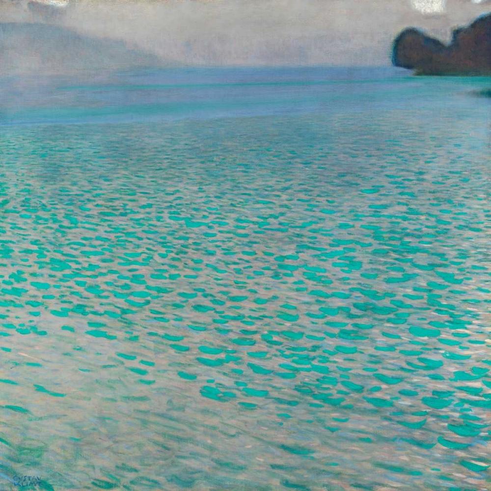 konfigurieren des Kunstdrucks in Wunschgröße Attersee von Klimt, Gustav