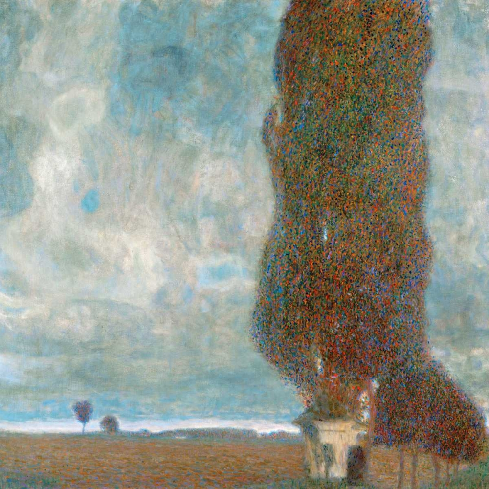 konfigurieren des Kunstdrucks in Wunschgröße Big Poplars von Klimt, Gustav