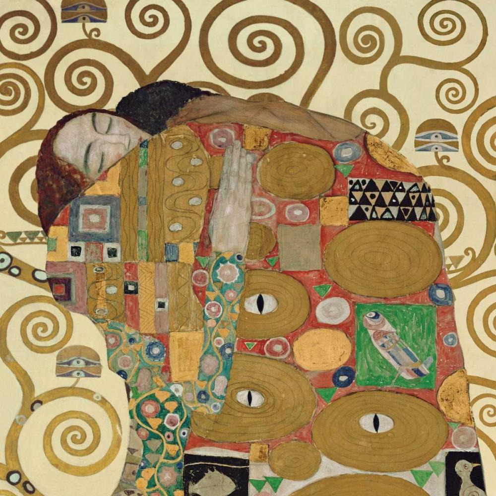 konfigurieren des Kunstdrucks in Wunschgröße The Embrace von Klimt, Gustav