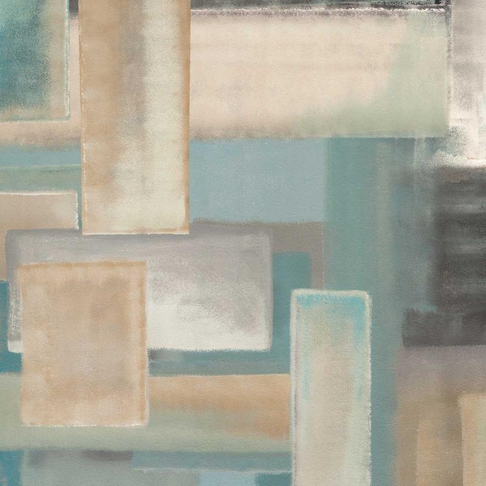 konfigurieren des Kunstdrucks in Wunschgröße Aqua I von Corrado, Italo