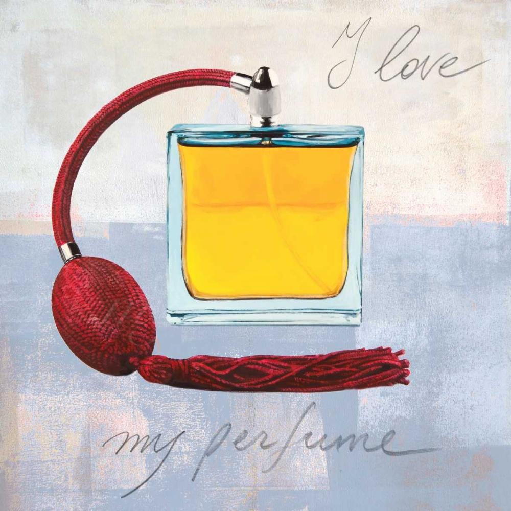 I Love my Parfume von Clair, Michelle <br> max. 152 x 152cm <br> Preis: ab 10€