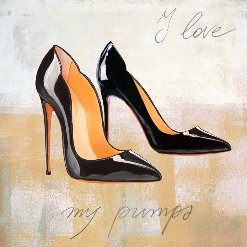 I Love my Pumps von Clair, Michelle <br> max. 152 x 152cm <br> Preis: ab 10€