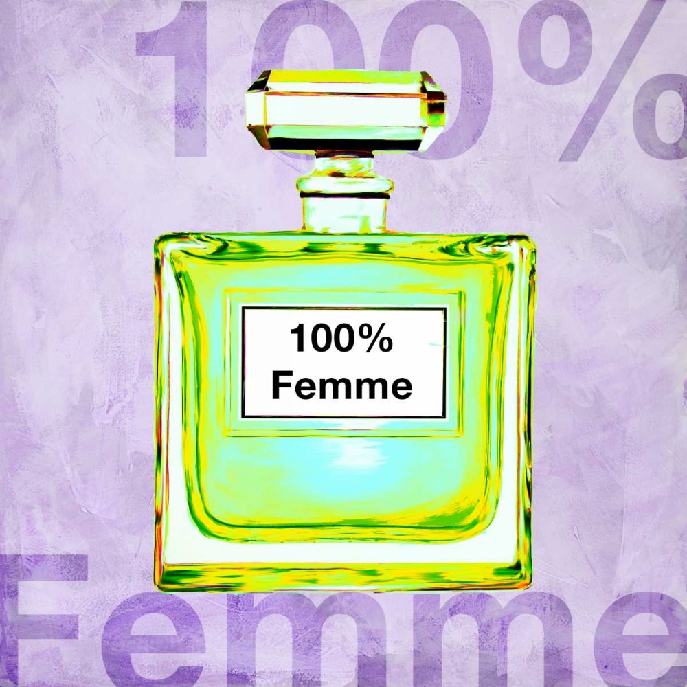 100% Femme von Clair, Michelle <br> max. 152 x 152cm <br> Preis: ab 10€