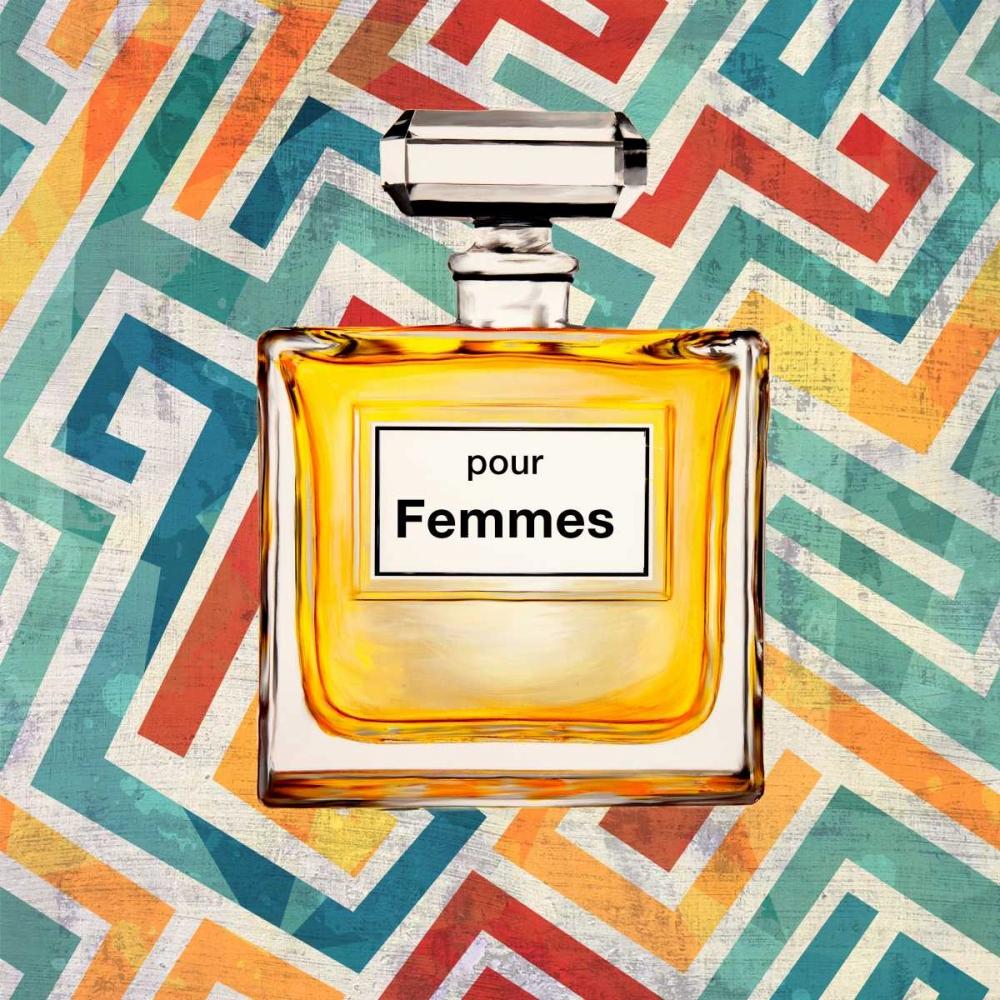 Pour Femmes I von Clair, Michelle <br> max. 152 x 152cm <br> Preis: ab 10€