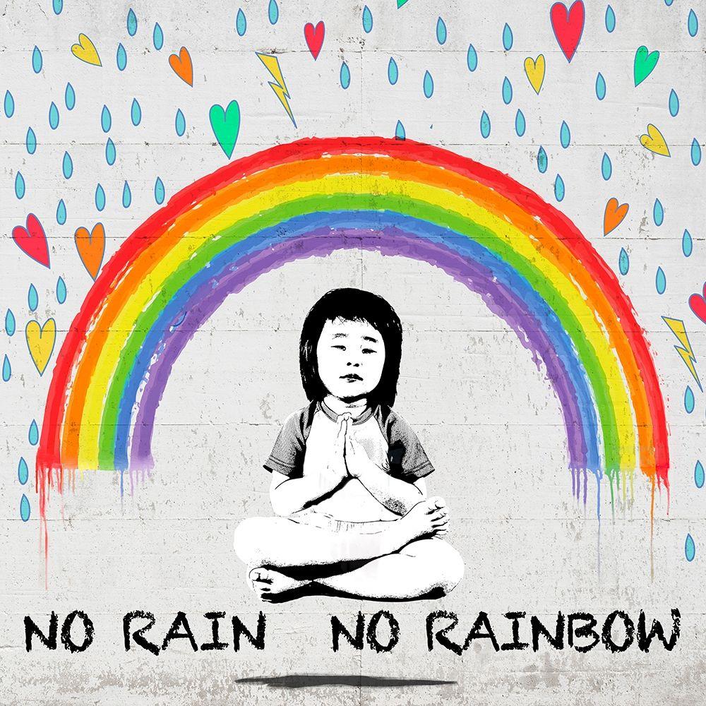 konfigurieren des Kunstdrucks in Wunschgröße No Rain No Rainbow (detail) von Masterfunk Collective
