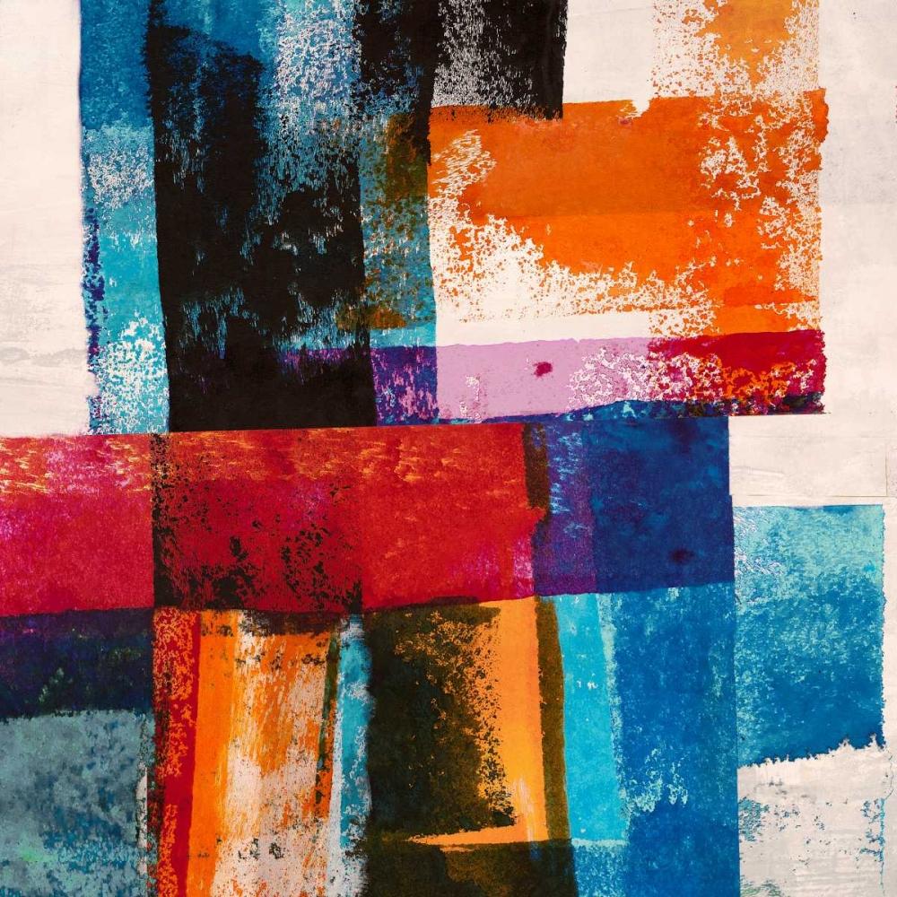 konfigurieren des Kunstdrucks in Wunschgröße Colors in Space II von Navarro, Manuel