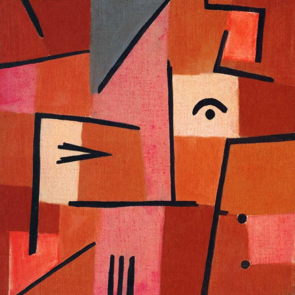 konfigurieren des Kunstdrucks in Wunschgröße Beware of Red von Klee, Paul