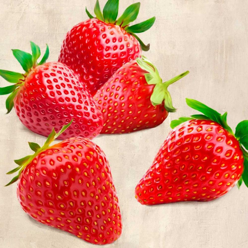 konfigurieren des Kunstdrucks in Wunschgröße Strawberries von Barbieri, Remo