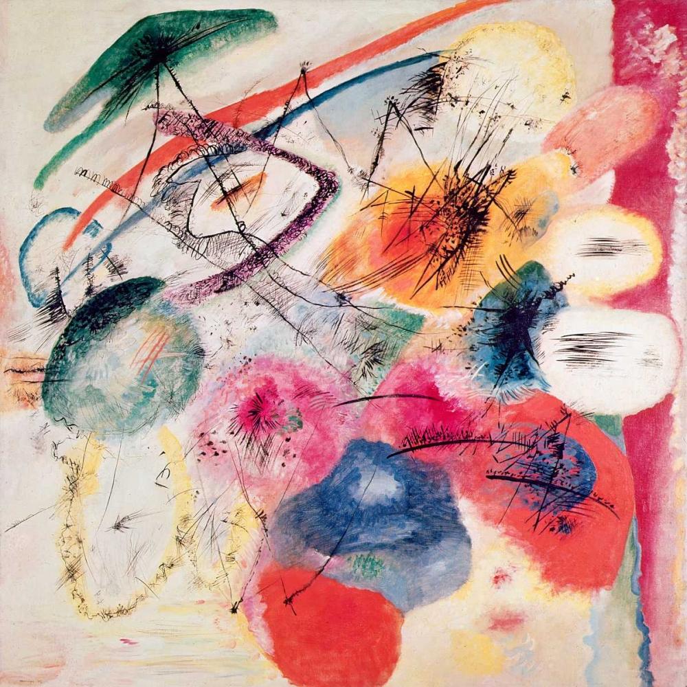 konfigurieren des Kunstdrucks in Wunschgröße Black Lines von Kandinsky, Wassily