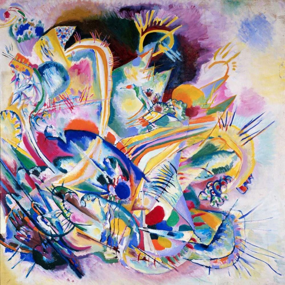 konfigurieren des Kunstdrucks in Wunschgröße Improvisation Painting von Kandinsky, Wassily