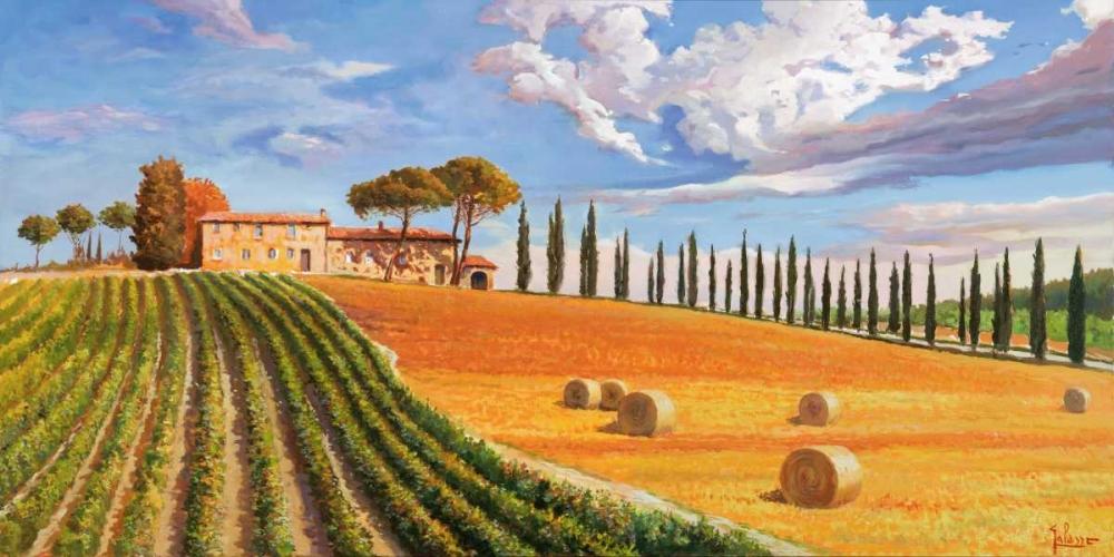 Colline toscane von Galasso, Adriano <br> max. 191 x 94cm <br> Preis: ab 10€