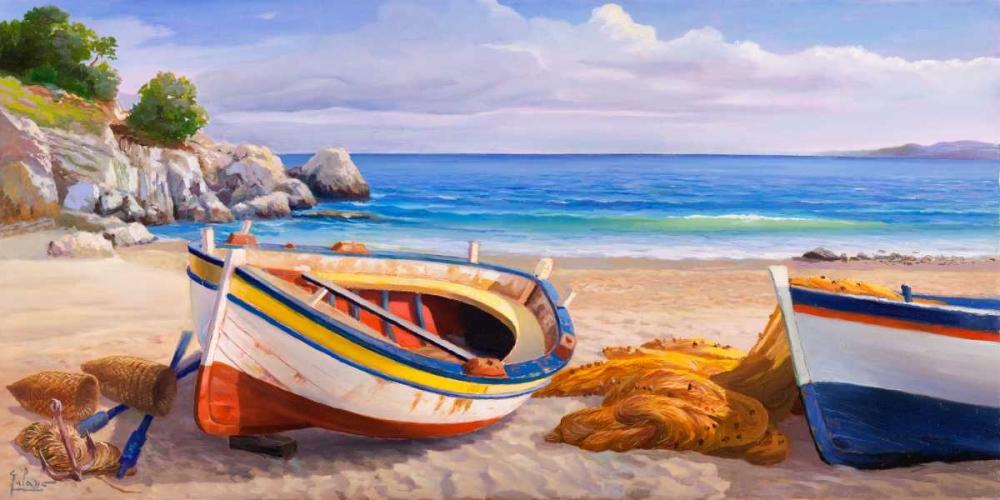 konfigurieren des Kunstdrucks in Wunschgröße Pomeriggio mediterraneo von Galasso, Adriano