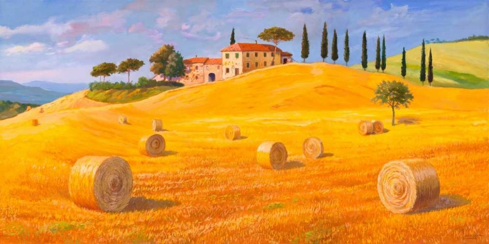 konfigurieren des Kunstdrucks in Wunschgröße Colline in Toscana von Galasso, Adriano