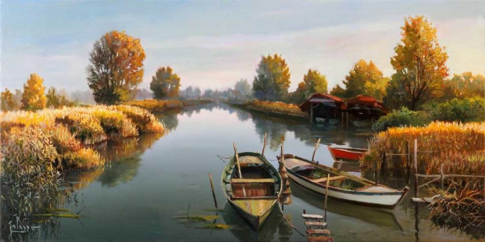 Sul fiume von Galasso, Adriano <br> max. 191 x 94cm <br> Preis: ab 10€