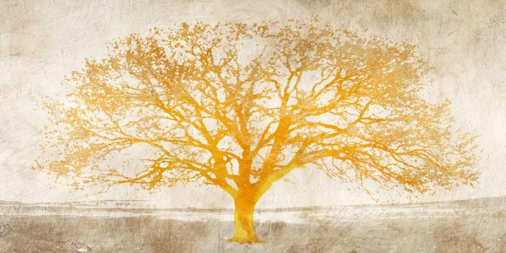 konfigurieren des Kunstdrucks in Wunschgröße Shimmering Tree von Aprile, Alessio