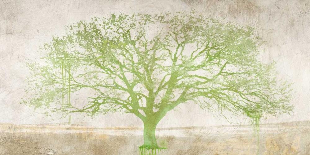 konfigurieren des Kunstdrucks in Wunschgröße Green Tree von Aprile, Alessio