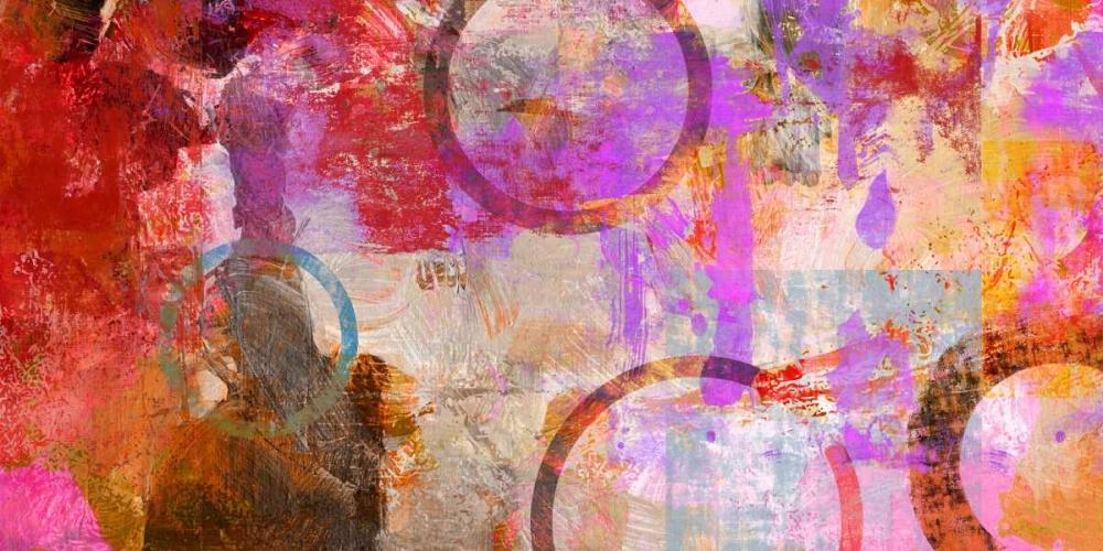 konfigurieren des Kunstdrucks in Wunschgröße Circle Circus von King, Amber