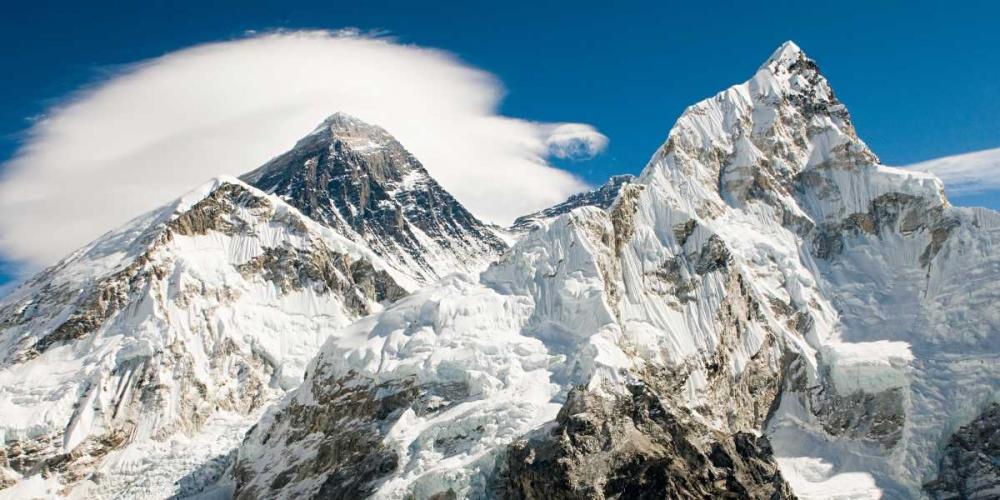 konfigurieren des Kunstdrucks in Wunschgröße Mount Everest von Anonymous
