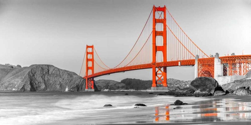 konfigurieren des Kunstdrucks in Wunschgröße Golden Gate Bridge, San Francisco von Anonymous