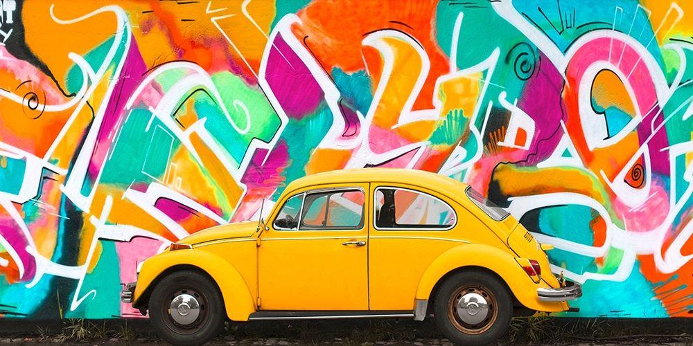 konfigurieren des Kunstdrucks in Wunschgröße Iconic street art I von Gasoline Images
