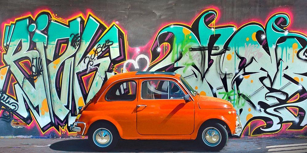 konfigurieren des Kunstdrucks in Wunschgröße Iconic street art II von Gasoline Images